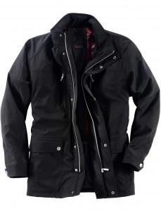 Übergangsjacke in großen Größen für Herren der Marke Redfield in schwarz